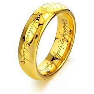 Original Ring Gold 333 Herr der Ringe - Lord of the Rings